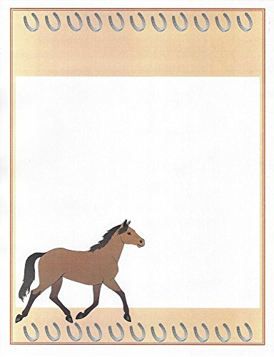 - Horse Stationery Printer Paper 26 Sheets