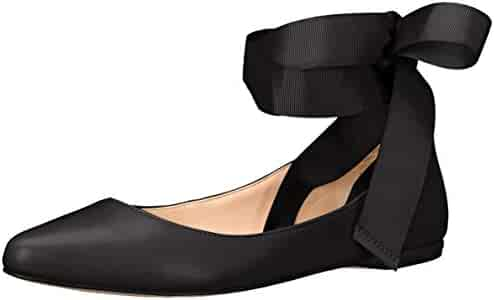 Nine West Women's Samara Leather Ballet Flat