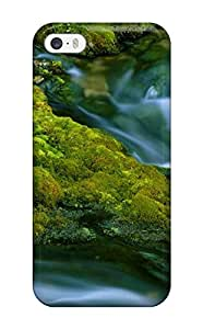 Iphone 5/5s DZYjusj336BblJi Earth Waterfall Nature Waterfall Tpu Silicone Gel Case Cover. Fits Iphone 5/5s