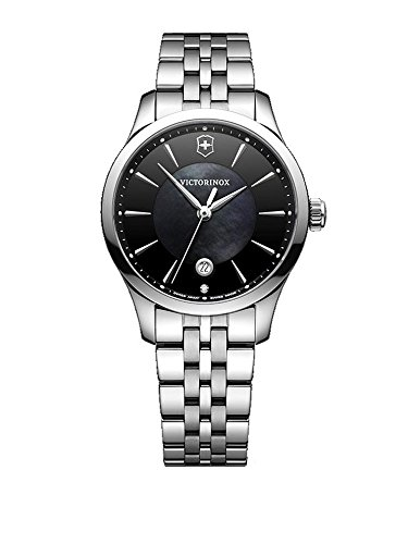Victorinox Women's 'Alliance' Swiss Quartz Stainless Steel Casual Watch, Color:Silver-Toned (Model: 241751)