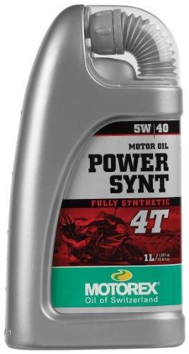 Motorex Power Synthetic 4T Oil - 5W40 - 1L. 404-100 - Motorex Power Synt 4t Oil