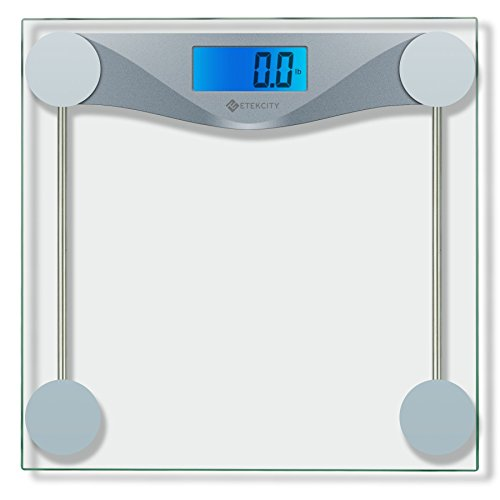 Digital Game Scale (Etekcity Digital Body Weight Scale with Body Tape Measure, Tempered glass, 400)