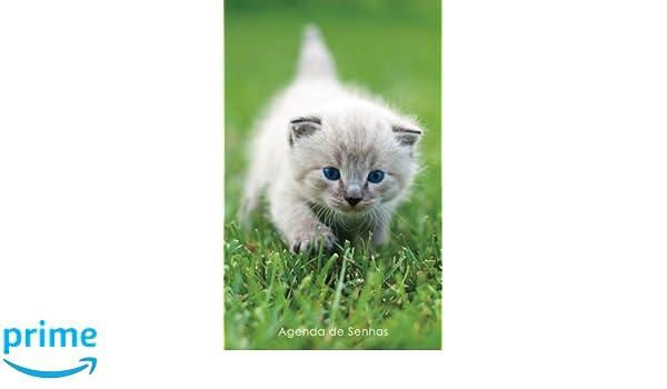 Agenda de Senhas: Agenda para endereços eletrônicos e senhas: Capa gatinho de olhos azuis - Português (Brasil) (Agendas com gatos) (Portuguese Edition): ...