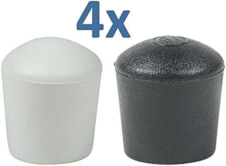 4 Piezas: Muchos Colores y Tamaños - Tapas Pies de Cúpula para Muebles Patas Mesas Sillas por Lifeswonderful®