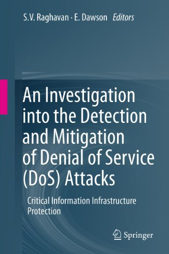 Download An Investigation into the Detection and Mitigation of Denial of Service (DoS) Attacks: Critical Information Infrastructure Protection Pdf
