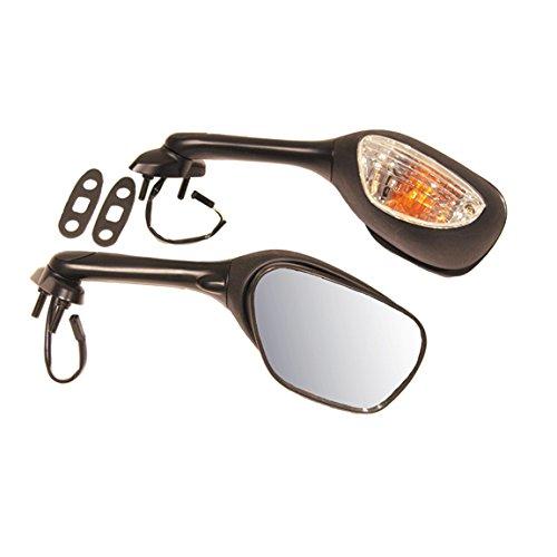 EMGO OEM Replacement Mirror for 05-09 Suzuki GSXR 600/750/1000 Right Side Black