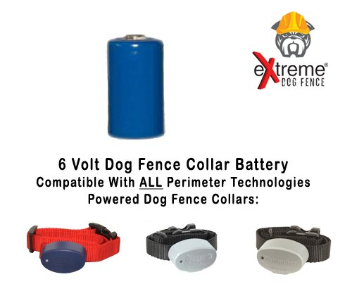 (Extreme Dog Fence Additional Battery for Compatible Dog Collar and Brand of Invisible Fence Compatible)