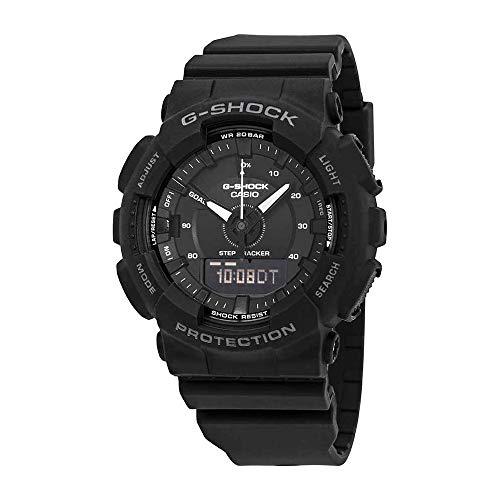 Ladies' Casio G-Shock S-Series Black Step Tracker Watch ()