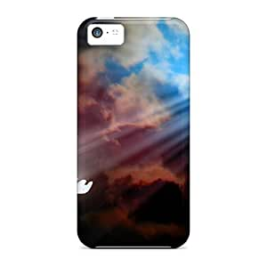Quality Fascinating Laugh Case Cover With Shine A Light For Peace Nice Appearance Compatible With Iphone 5c
