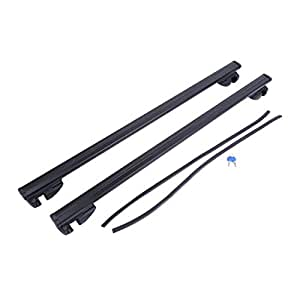 Universal Car Roof Rack Cross Bars Vehicle Cargo Luggage Carrier Auto Roof Rails With Anti-theft Lock Easy Fit 124CM🌵