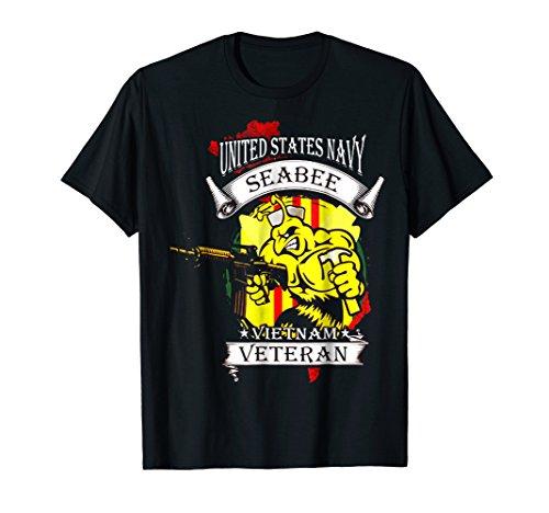 Us Navy Seabee Vietnam Veteran T (Navy Seabees Vietnam)