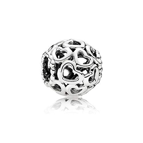 (Pandora Open Your Heart Sterling Silver Charm No. 790964)