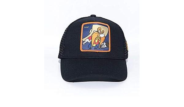 sdssup Anime Cartoon Cap Hat Net Cap Sam Negro Ajustable: Amazon ...