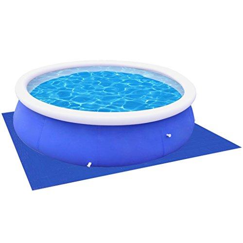 vidaXL Schwimmbad Unterlegeplane Pool Bodenplane 360 /367 cm