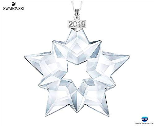 Swarovski Christmas Star - Swarovski Annual Edition 2019, Large Christmas Ornament, Clear