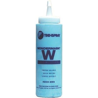 Techspray 2205-8SQ WONDERMASK W, 8 oz Squeeze Bottle