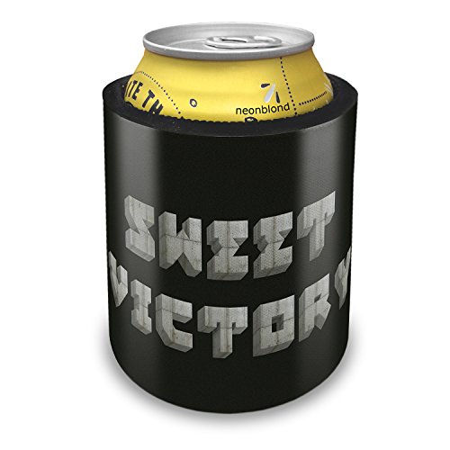 Slap Can Coolers Sweet Victory Concrete Stone Blocks Insulator Sleeve Covers Neonblond