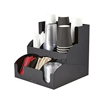Amazon Com 2 Piece Combo Coffee Condiment Organizer And A