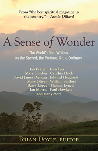 Download A Sense of Wonder: The World's Best Writers on the Sacred, the Profane, and the Ordinary pdf