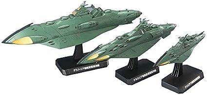 Bandai Hobby #3 Mecha Collection Garmillas Warship Space Battleship Yamato 2199