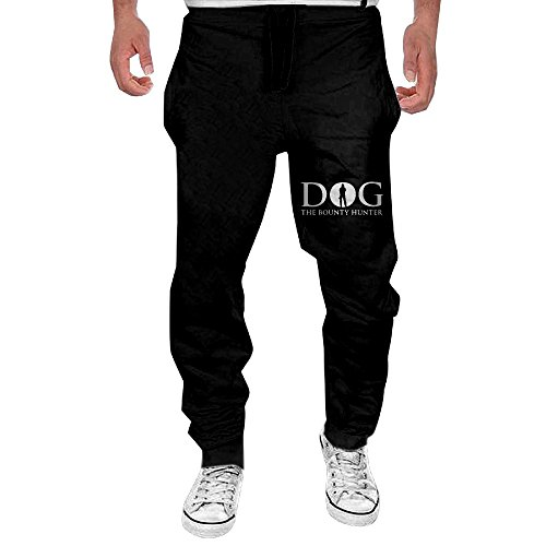 Men Dog The Bounty Hunter Open-bottom Sweatpants