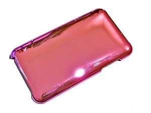 """""""Gleam"""" Rosado Claro, Cubierta de plástico duro & """"Fiver"""" Negro, Sostenedor de teléfono - para iPhone 3G/3Gs. Paquete único de Cubierta / Estuche / Carcasa / Funda para iPhone 3G/3Gs & Auténtico sostenedor de teléfono para iPhone 3G/3Gs."""