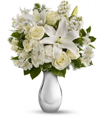 Shimmering White Arrangement (Available in Toronto & Vicinity Only) Grenville Station