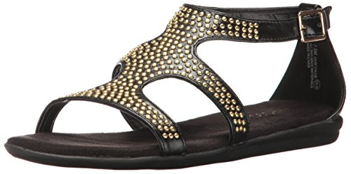 Aerosoles Women Swim Chlub Gladiator Sandal Black