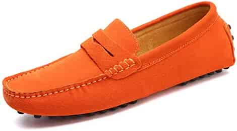 0d1db09588381 Summer Style Soft Moccasins Men Loafers Genuine Leather Shoes Men Flats  Gommino Driving