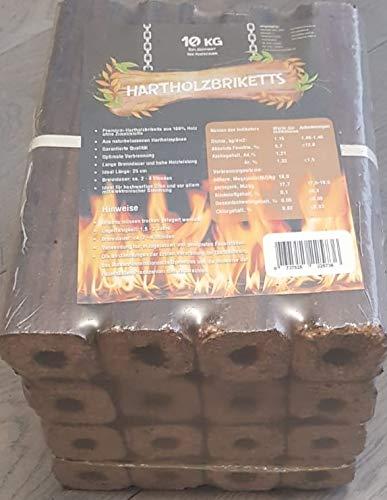 Hartholzbriketts 20kg incl Versand, 25cm lang 5x5cm Holzhandel Stefan