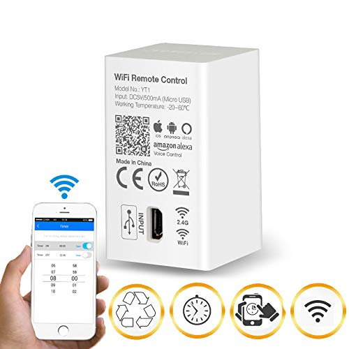 Mi-Light Smart WiFi Voice Remote Control YT1, DC5V USB 4G iOS Android APP Controller, for MiLight 2.4GHz RGB CCT RGBW LED Strip Light Bulb