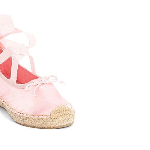 La Redoute Collections Mdchen Espadrilles IM Ballettstil 2639 Gre 34 Rosa