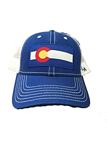 Colorado Flag Patch Trucker Hat