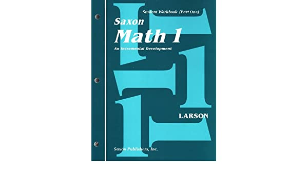 Saxon Math 1st Grade Student Workbooks and Meeting Book: LARSON ...