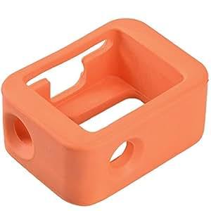 ALLCACA Gopro Floaty Case Gopro Diving Floaty Protective Case Gopro Floaty Cover for GoPro Hero 3, 3+, 4, Orange