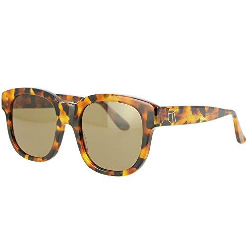 f0a5d63990a Emmanuelle Khanh EK 7051 Sunglasses 68342 Brown Women Spring Summer  Collection