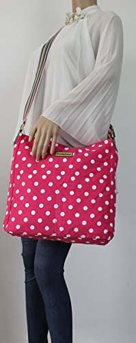 SwankySwans - Borsa a tracolla donna Pink