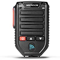 NKTECH 32.8' BT-89 Wireless Bluetooth Microphone Speaker Mic 10-Meters Receive For QYT KT-8900D KT-7900D KT-8900 KT-8900R KT-8900RE KT-UV980 PLUS Car Trunk Ham Mobile Transceiver