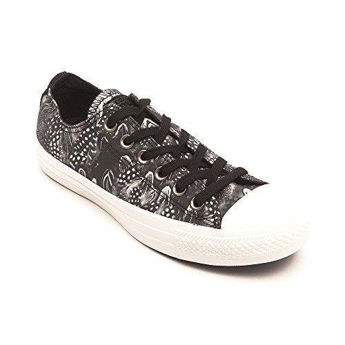 Chuck Taylor All Converse Bue Stelle, Unisex-adulto Sneaker Nera