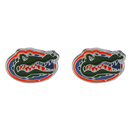 - Sandol Florida Gators Logo Stud Earrings