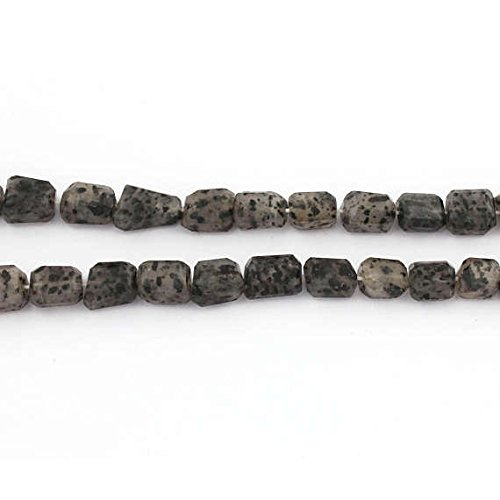 Big Halloween Sale 1 Strand Black Rutile Faceted Center Drill Briolettes - Tourmilated Quartz Nugget Beads 9mmx7mm-19mmx13mm 16 inches (Quartz Long Drill)