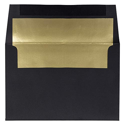 JAM Paper A8 Foil Lined Invitation Envelopes - 5 1/2