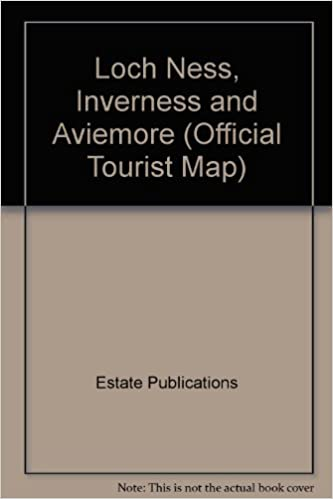 Loch Ness Inverness and Aviemore Official Tourist Map Estate