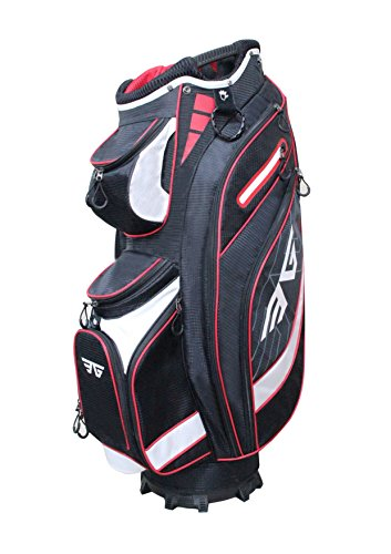golf bag with cooler pocket - 1