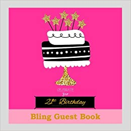 21st Birthday Decorations In All Departments Bling GUEST BOOK Classy Silver Inside Foil Fleur De Lis End Pages Party