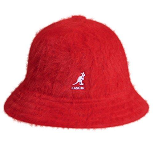 - Kangol Unisex-Adult's Furgora Casual Bucket Hat, Scarlet, M