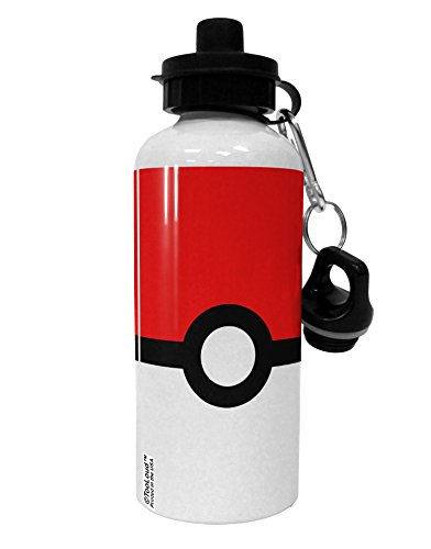 TooLoud Sporty Red and White Circle Aluminum 600ml Water Bottle]()