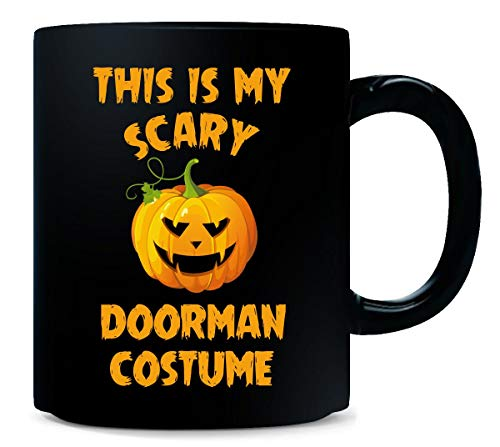 This Is My Scary Doorman Costume Halloween Gift - Mug -