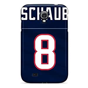 Great Hard Phone Case For Samsung Galaxy S4 With Customized Nice Houston Texans Series JoanneOickle
