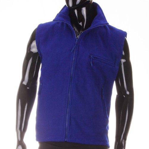 N&Y Fleece Weste - kuschlig in frischen Farben, Farbe:Blau;Grš§e:XXL